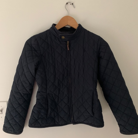 Polo by Ralph Lauren Other - POLO RALPH LAUREN GIRLS QUILTED JACKET Navy Sz 10